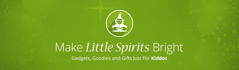 Christmas gifts for kids that make little spirits bright. Gadgets, goodies and other kids gifts.