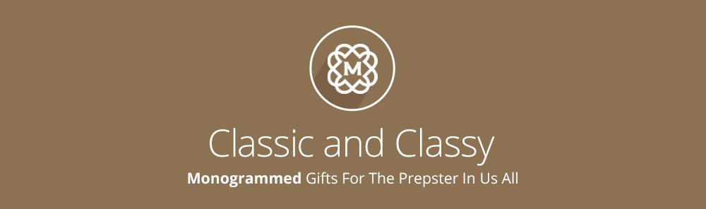 Shop monogrammed gifts banner