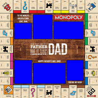 Happy Father's Day Monopoly