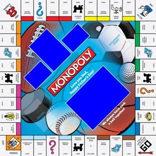 Sports Dad Monopoly