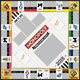 Class of 2015 Gold 2 Monopoly