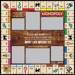 Class of 2015 Monopoly