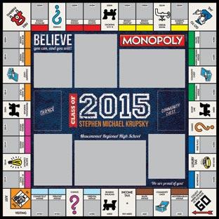 Varsity Class of 2015 2 Monopoly