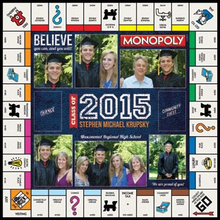 Varsity Class of 2015 Monopoly
