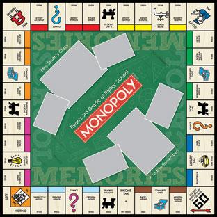 School Memories Monopoly
