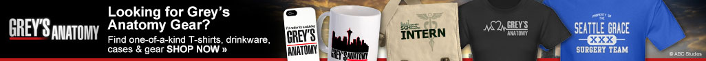 Looking for Grey's Anatomy Gear?