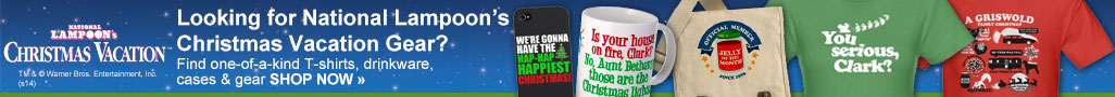 Looking for National Lampoon's Christmas Vacation Gear?