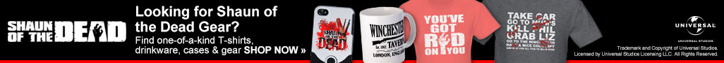 Looking for Shaun of the Dead Gear?