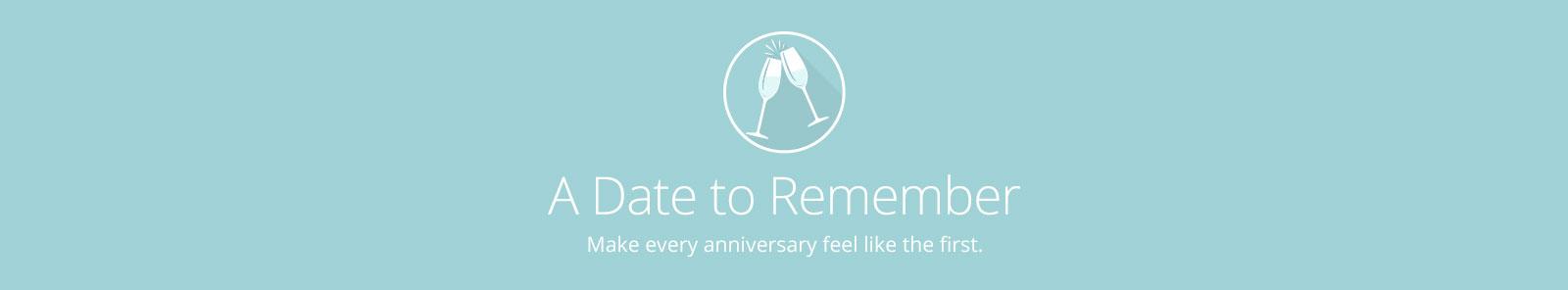 Anniversary Gifts Desktop Banner