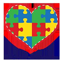 Puzzle Heart Tshirt