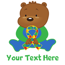 Puzzle Ribbon Bear