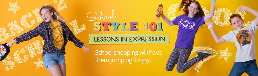 Back to School Gifts Banner