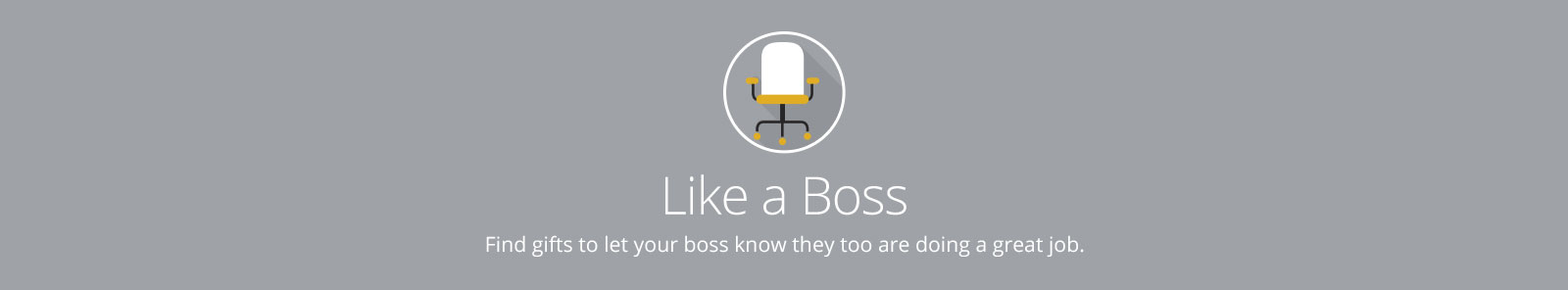 Like A Boss Desktop Banner