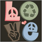 Love Peace Recycle