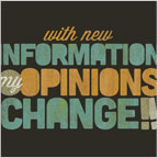 New Political Information Opinions Change