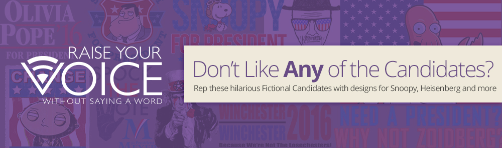 Fictional Candidates