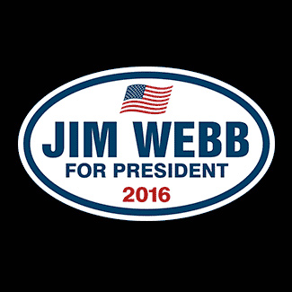 Jim Webb for President Election 2016