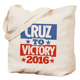 Ted Cruz for President 2016 Election Tote Bag
