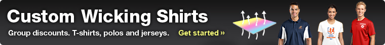Custom Wicking Shirts