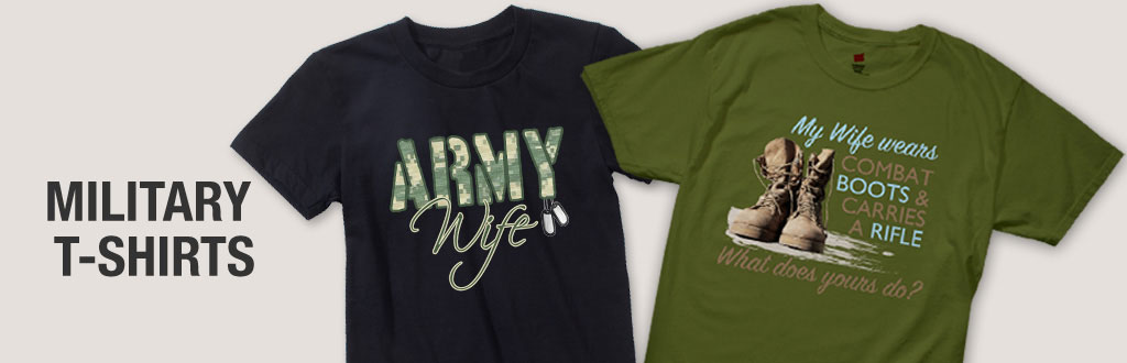 Military T Shirts | Military Branch Shirts & Clothing