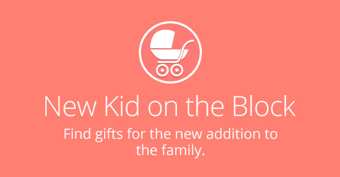 New Baby Gifts Mobile Banner