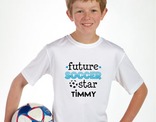 Custom Soccer T-shirts