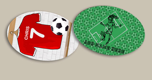 Custom Soccer Stickers