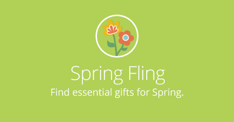 Spring Gifts Mobile Banner