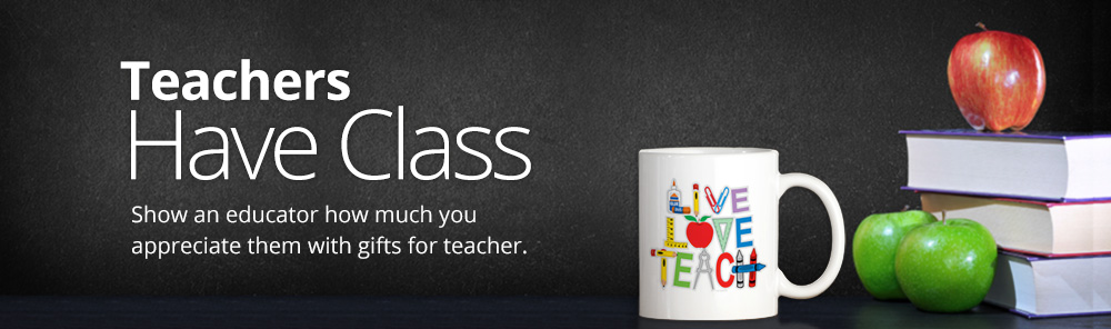 Teacher Gifts Banner