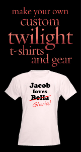 Make your own custom Twlight t-shirts and gear