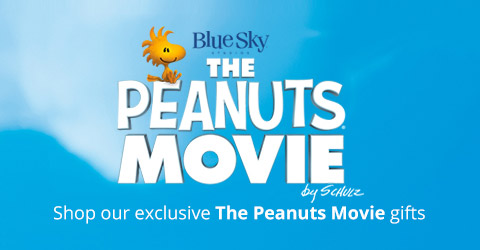 Shop exclusive Peanuts Movie merchandise