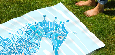 UNIQUE BEACH TOWELS