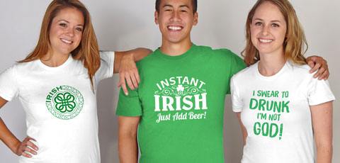 ST PATRICK's DAY TEES