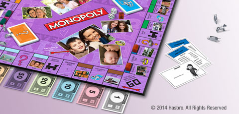 Custom Monopoly Game