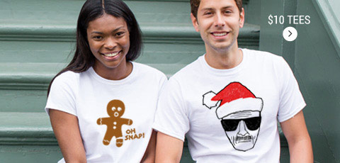 $10 Holiday Tees