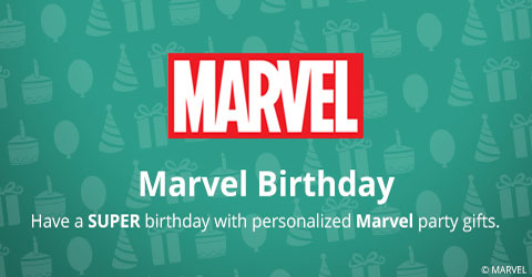 Marvel Birthday Gifts