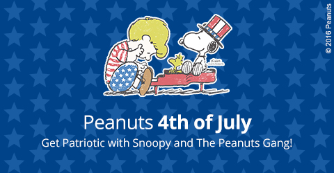 Peanut's 4th of July