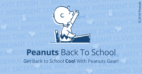 Peanuts Back to School Gifts