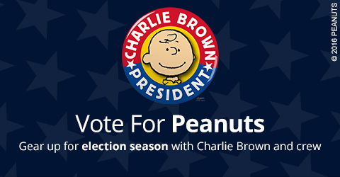 Peanuts Election Gifts
