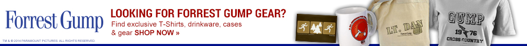 Looking for Forrest Gump Gear?
