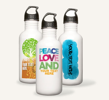 custom stainless steel water bottles cafepress