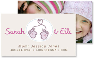 Custom Contact Cards