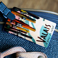 Toiletry Bags Luggage Tags