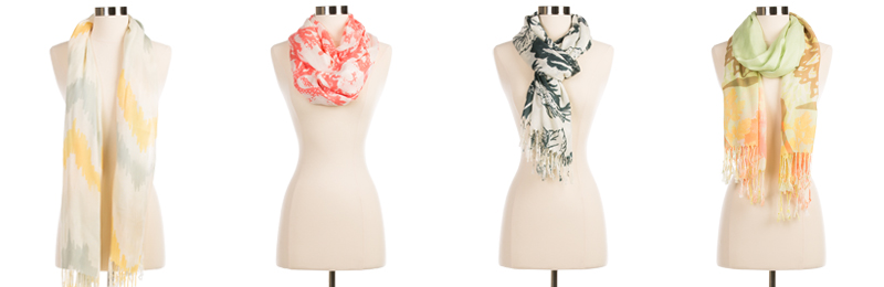 Stylish Tassel Scarves