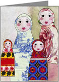 Babushka Note Cards