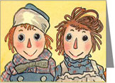 Raggedy Ann & Andy Note Cards