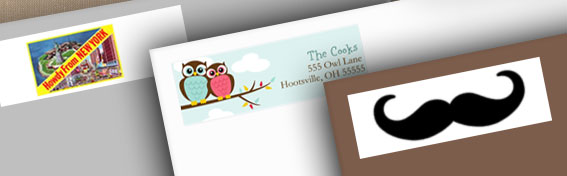 FREE address labels from CafeP...