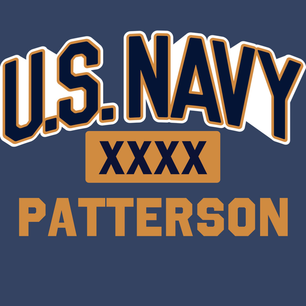 Navy Personalized