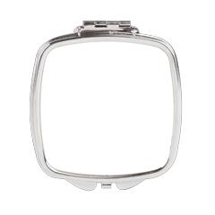 Square Compact Mirror