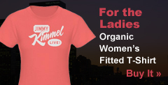 For The Ladies: Organic Women's Fitted T-Shirt